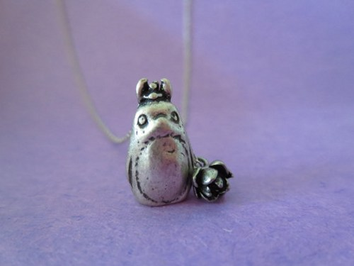 My Neighbor, Totoro, Silver Plated Chain, Necklace